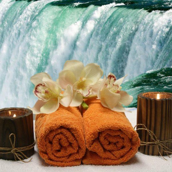 cascade et fleure relax massage