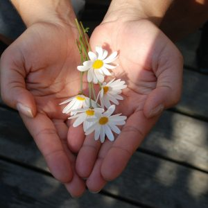 parrainage massage les fleurs âges fleurs