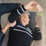 massage seniors- le corps - les fleurs âges