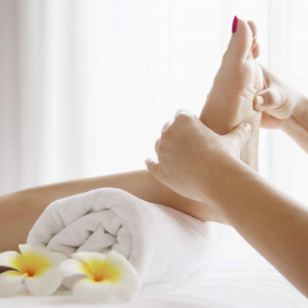 les fleurs âges - massage-pieds