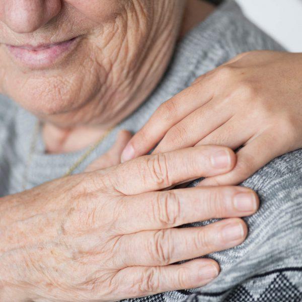 toucher seniors - les fleurs âges